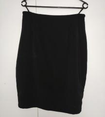 Crne pencil suknje