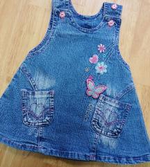 Jeans haljinica za curice * PT.UKLJ.