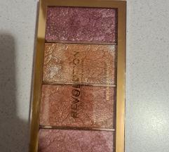 Revolution makeup paleta rumenila/bronzera
