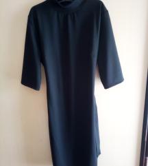 Crna haljina s remenom