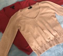 ✨ Komplet: dvije Mango basics majice dugih rukava✨