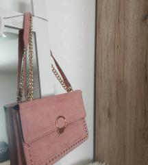 Puderasto roza torbica