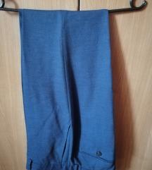 Hlače od odijela - Zara Man - plave