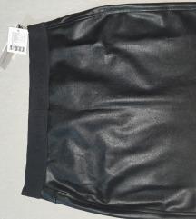 Mini suknja kožna