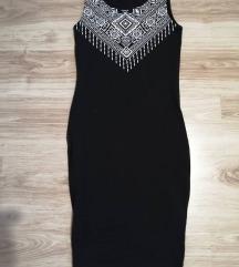 lot 2 pencil crne pamucne haljine,36 broj