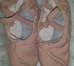 Chacott pamucne / kozne baletne papučice 34