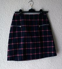 Karirana H&M suknjica