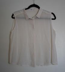 Mango bijela košulja bez rukava NOVO