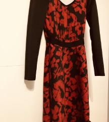 %%Diadema crno crvena haljina