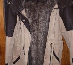 Bershka M jakna 2u1 (ekstra topla)