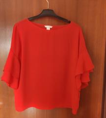Crvena bluza H&M