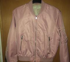 Zara Basic roza bomber jakna