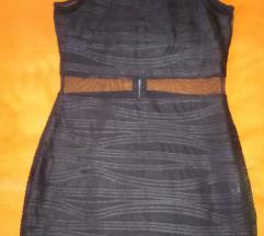 Amisu crna uska haljina vel.M