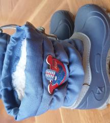 Gumene čizme sa krznom br.28