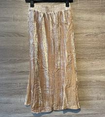 Midi baršun nova suknja