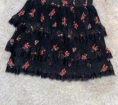 Suknja sa cvjetnim uzorkom