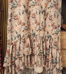 Reserved asimetrična haljina sa volanima M/L/XL
