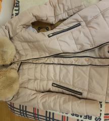 Zimska jakna sa krznom Par puta nošena Akcija!