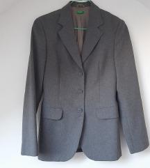 Sivo odijelo 38 BENETTON