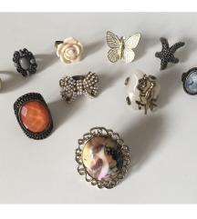Set/lot vintage unikatnih prstena - 50 kn ❗️❗️❗️❗️