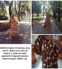H&M hit haljina M