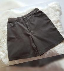 Pionier sive kratke hlače, visoki struk