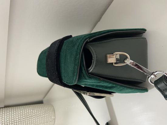 Zeleno/crna torbica