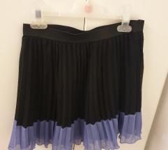 H&M mini suknja na falde