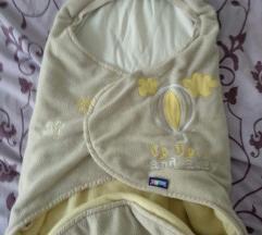 Pamučno felpasta vreća za bebu