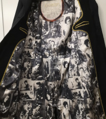 Rezz St Martins trench coat