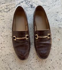 H&M kroko koža mokasinke