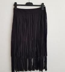 Nova ZARA suknja s resama