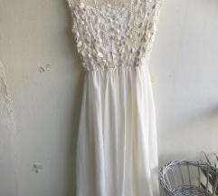 Haljina Vjenčanica boje sampanj vel M-Xl
