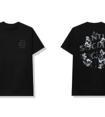 Anti Social Social Club Dramatic Black Tee