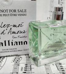 John Galliano Parlez moi d'Amour edt 80ml
