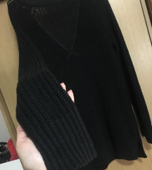 ESPRINT dugi crni džemper