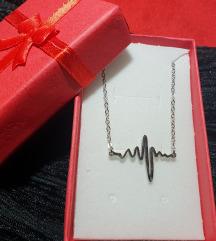 Lančić kirurški čelik ritam srca