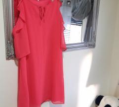 Morgan XYZ koraljna haljina%