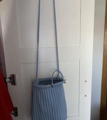 Stradivarius baby plava torba