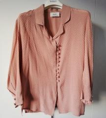 Svilena bluza boje pudera MIKKA butik broj 40