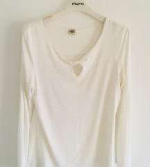 Bijela majica bluza vel XL