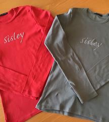 Sisley dvije majice dugih rukava