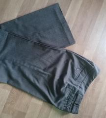 Ravne hlače 38
