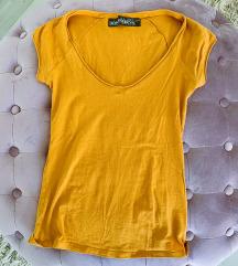 Zara potpuno nova žuta majica kratkih rukava