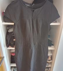 Crna mini poslovna haljina M %50kn%