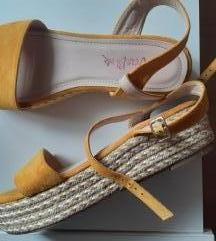 Žute Sandale