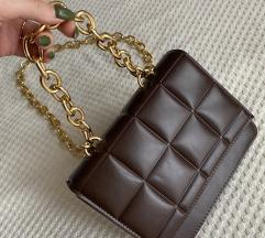 Inspired Bottega torbica bordo