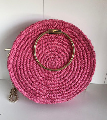 H&M pletena torbica