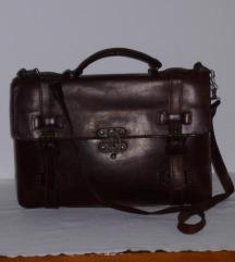 %%% Vintage kožna torba - sada 400,00 kn %%%