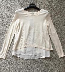 H&M Bijeli tanji pulover bluza vel XS